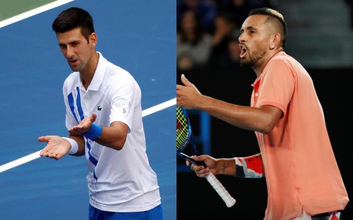 Nick Kyrgios Manda Ironico Mensaje Tras Descalificacion De Djokovic