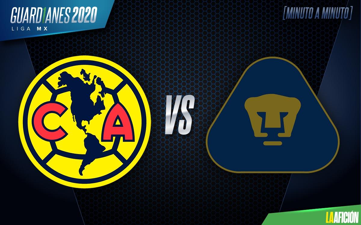 Arriesgado etc. reaccionar  América vs Pumas, Liga MX (2-2): GOLES Y RESUMEN