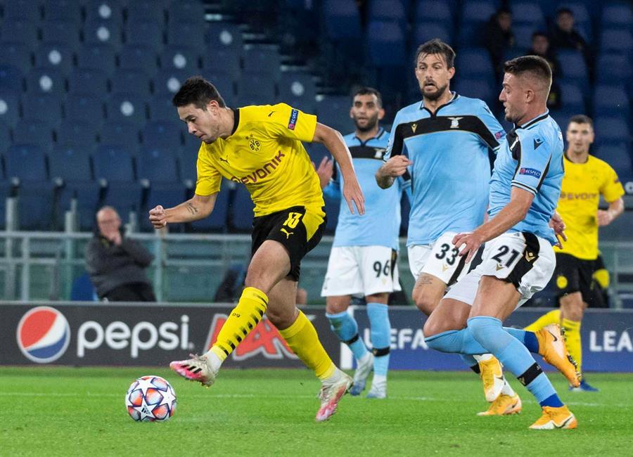 Lazio vs Borussia Dortmund: Goles y resumen de la ...