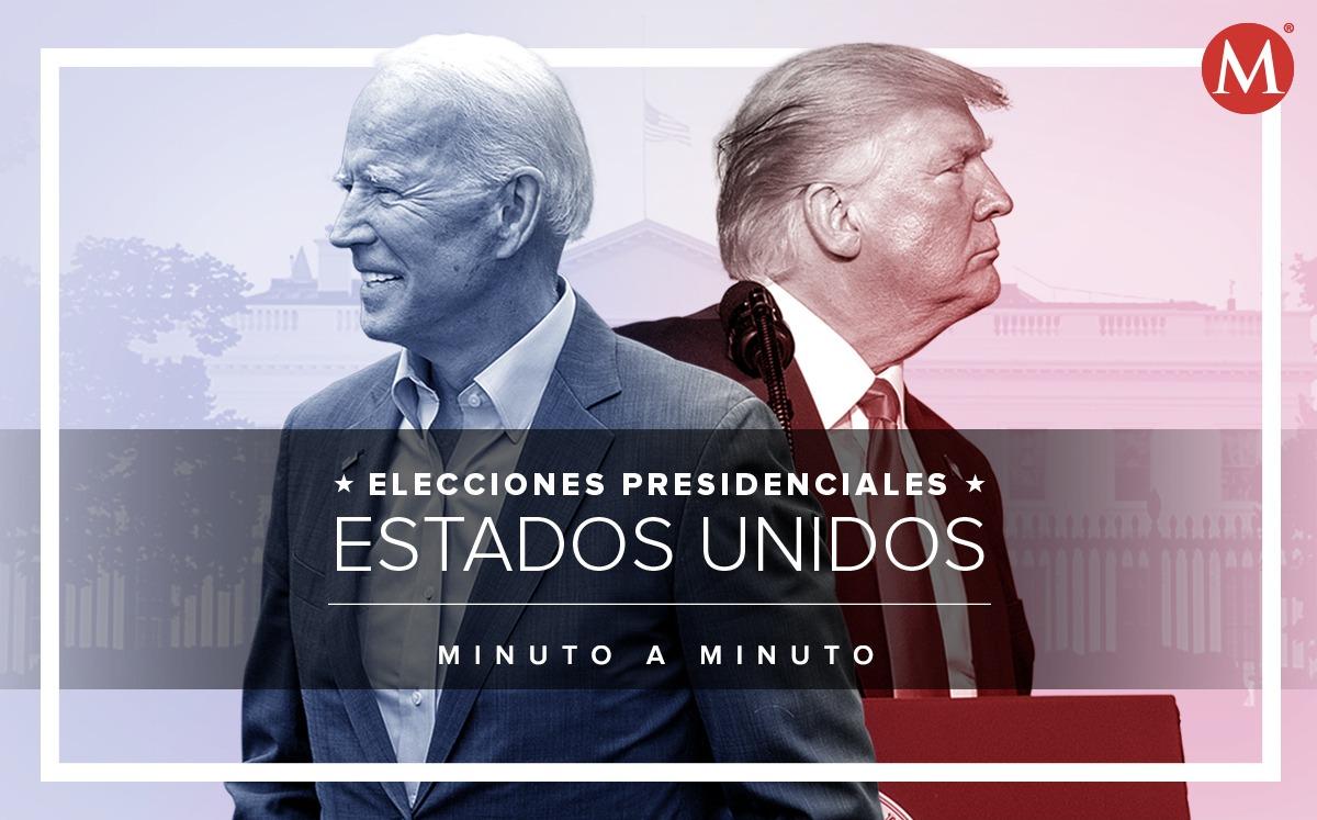 Donald Trump y Joe Biden, rumbo a la Casa Blanca | Últimas Noticias
