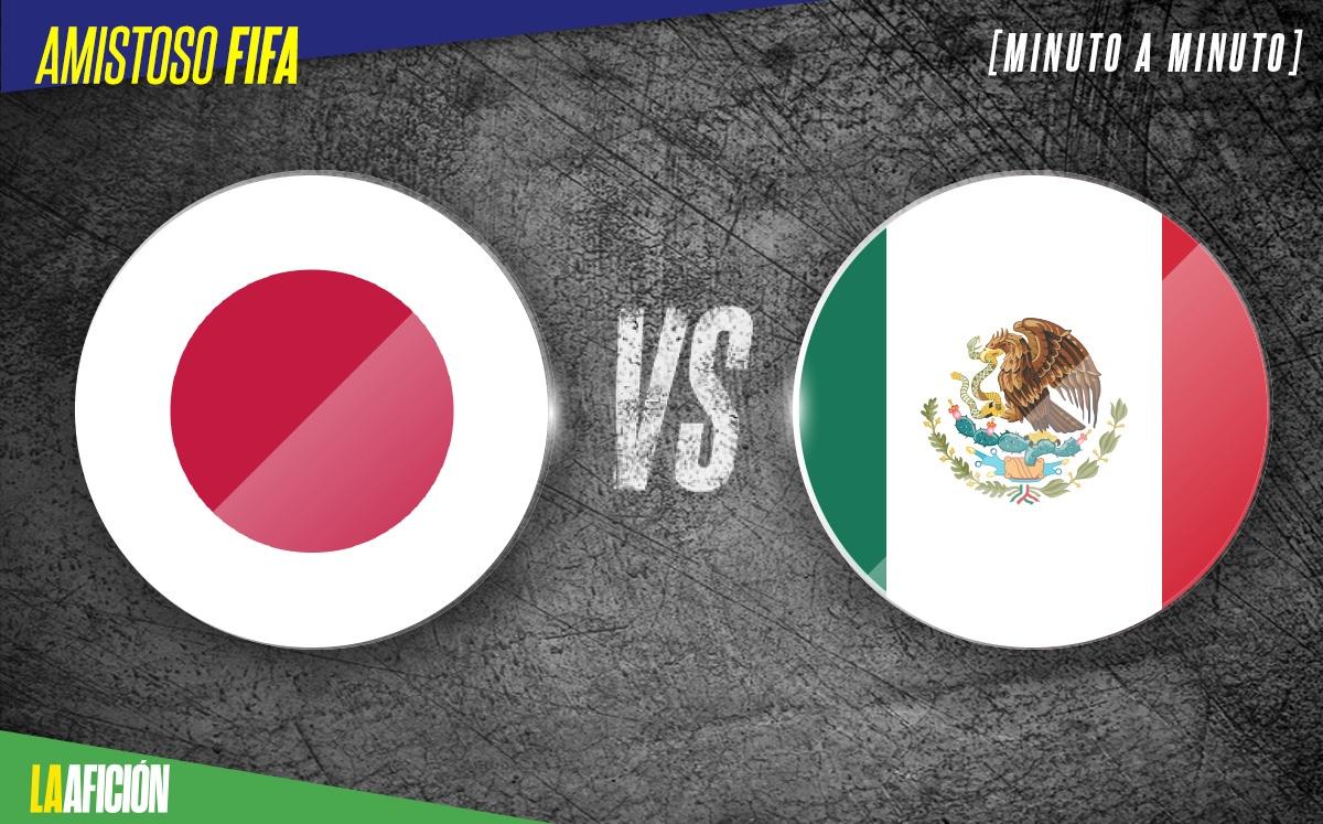 VER México vs Japón EN VIVO y ONLINE. Fecha FIFA Hoy