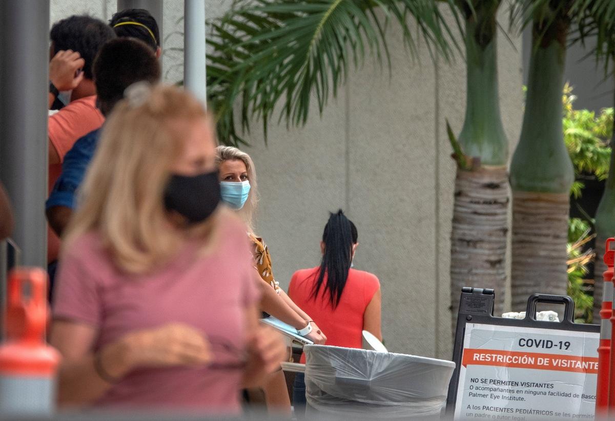 En EU, Florida es el tercer estado con más casos de covid-19
