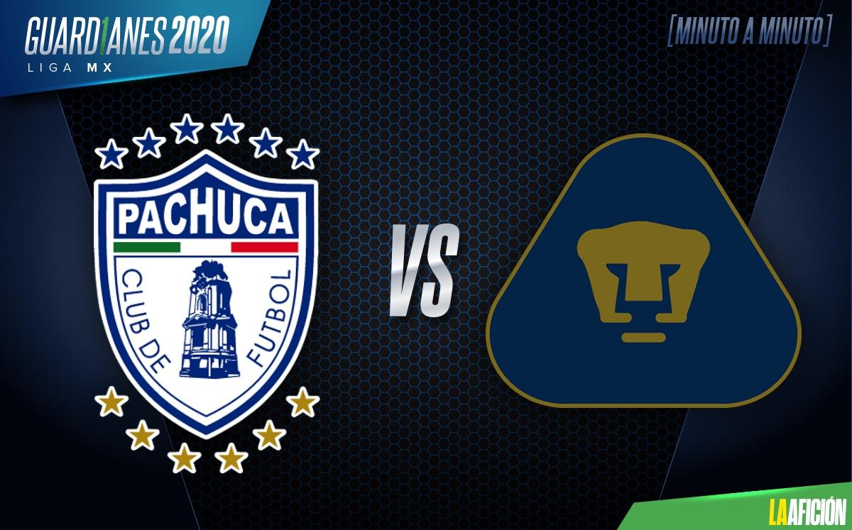 Pachuca vs Pumas UNAM En Vivo - Liga MX Cuartos de Final