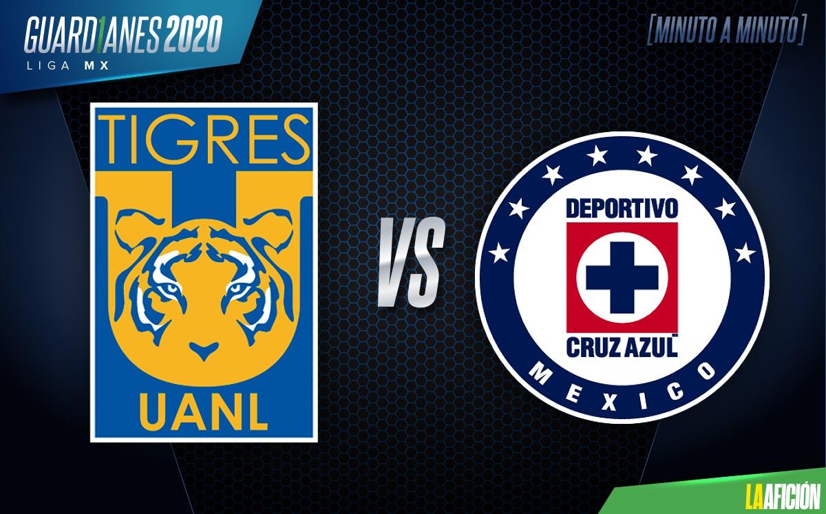 Tigres UANL vs Cruz Azul EN VIVO. Liguilla 2020 - Futbol HOY