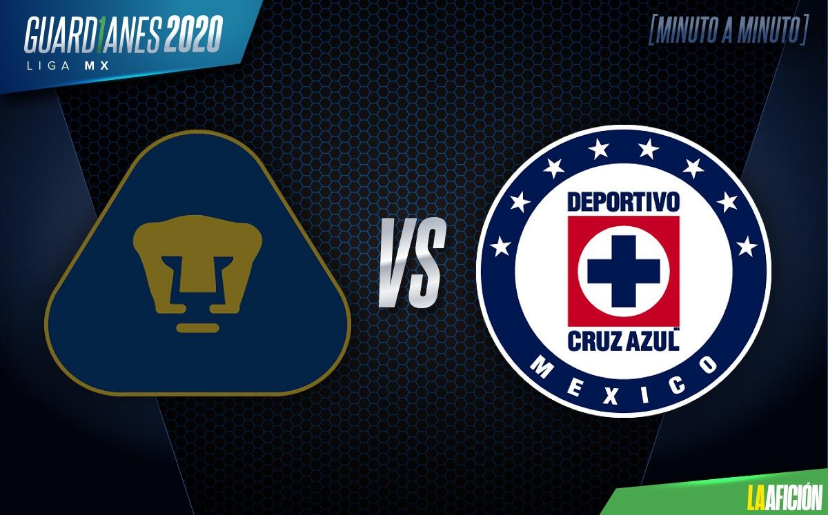 Introducir probable Templado  Pumas vs Cruz Azul, semifinales vuelta (4-0): GOLES Y RESULTADO