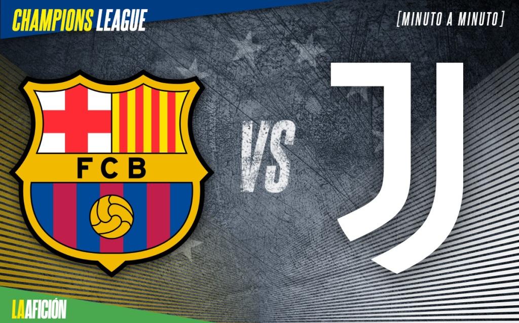 Barca vs Juve EN VIVO. Champions League - Messi vs CR7