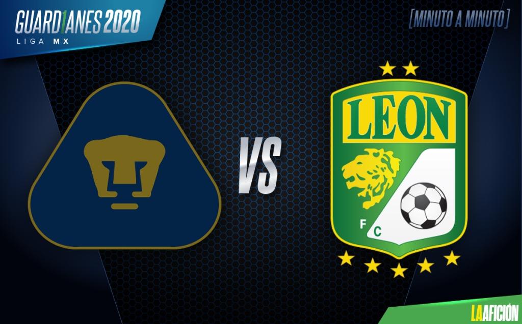 Pumas vs León. Partido de IDA (1-1): GOLES Y RESUMEN