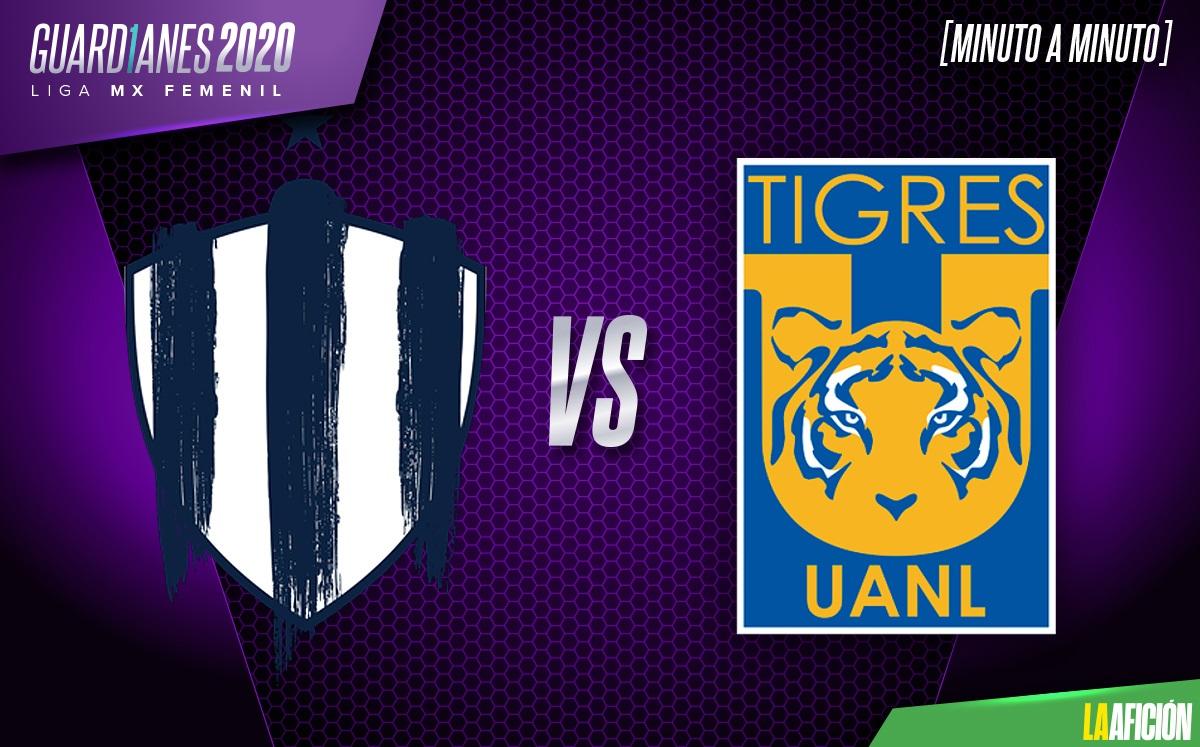 Monterrey vs Tigres EN VIVO. Final Liga Mx Femenil - IDA