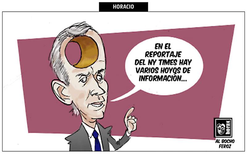 Hoyos de información - Horax