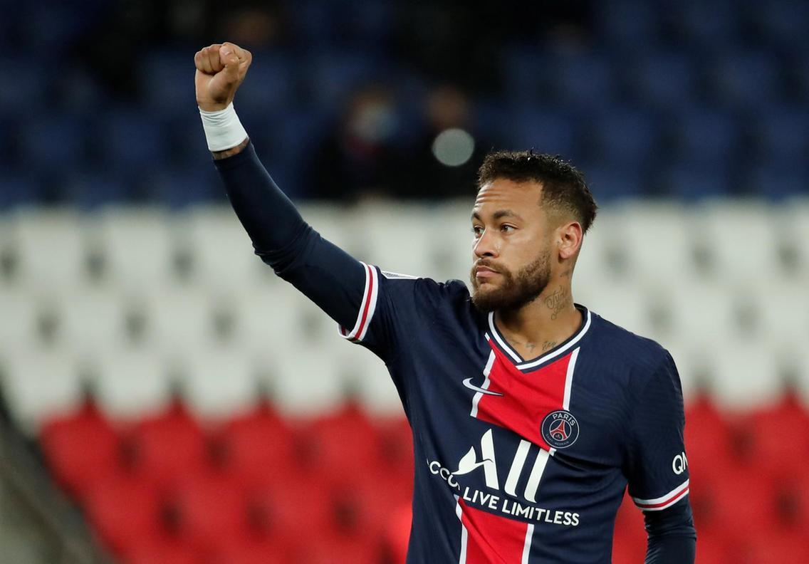 PSG. Neymar se recupera de su lesión; empieza a correr