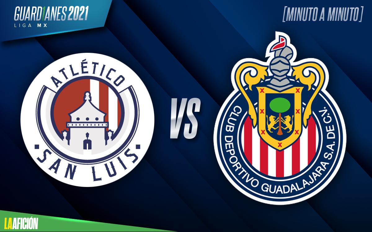Atlético de San Luis vs Chivas, Guardianes 2021 (3-1): GOLES Y RESUMEN