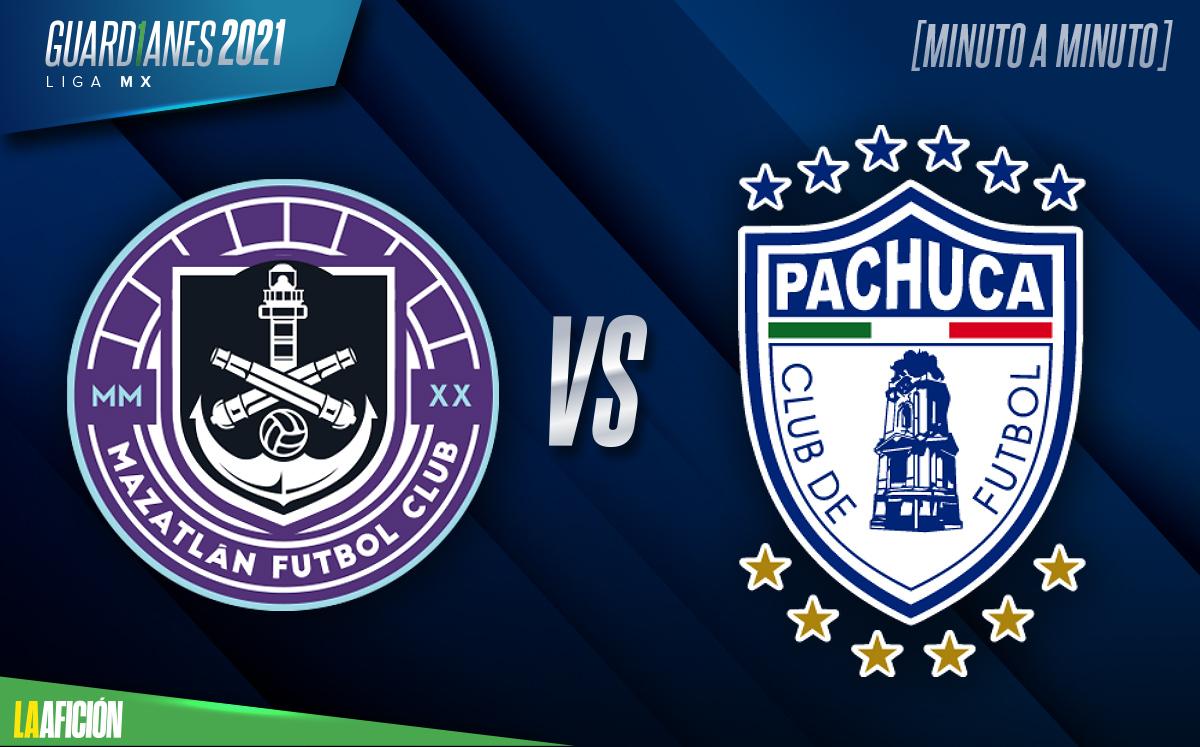 Mazatlán vs Pachuca, Guardianes 2021 (1-0): GOL Y RESUMEN