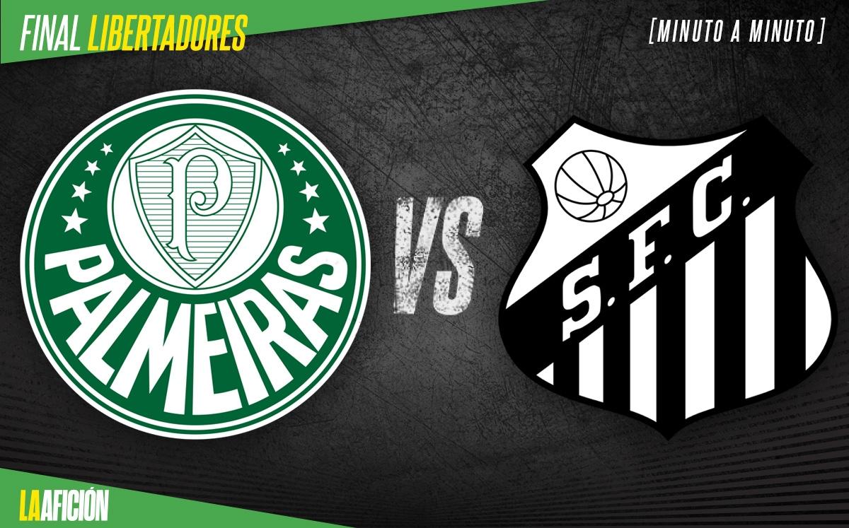Palmeiras vs Santos HOY. Final de la Libertadores 2021