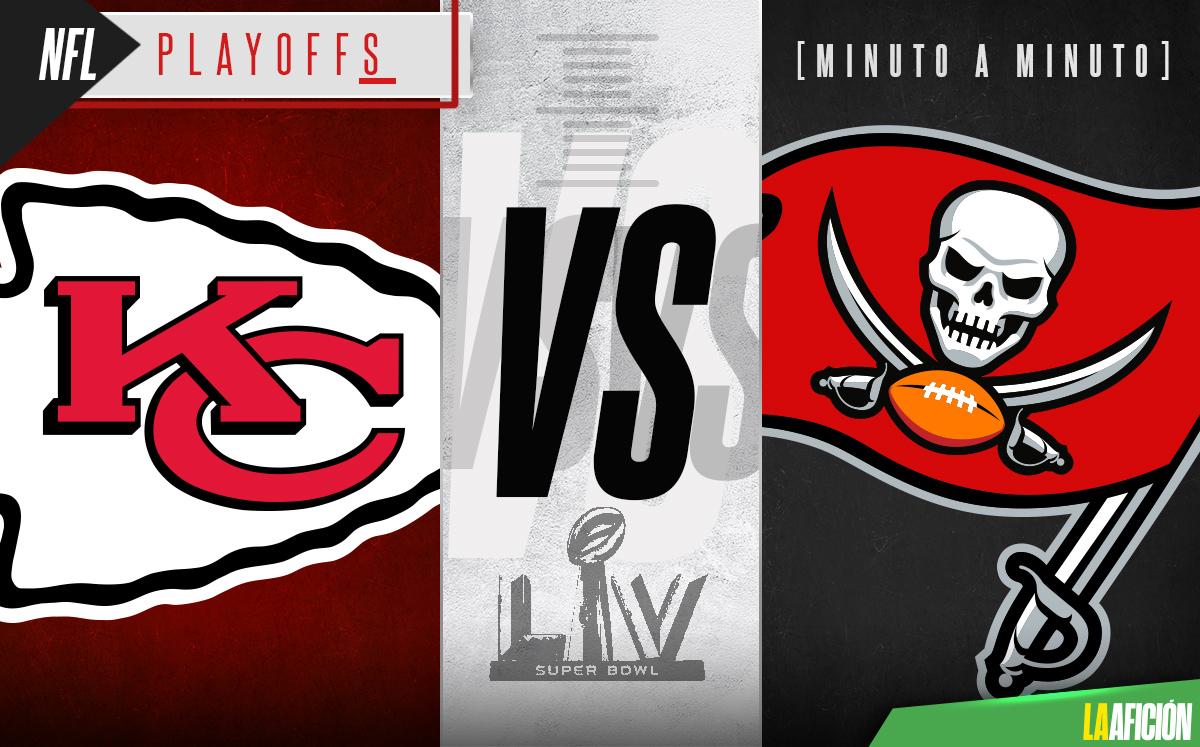 Kansas City vs Tampa Bay. Super Bowl EN VIVO Final NFL 2021