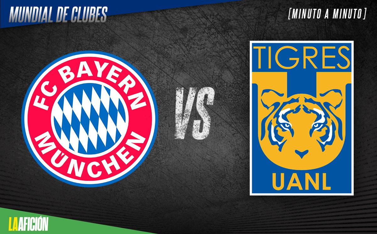 Bayern vs Tigres EN VIVO. Mundial de Clubes FINAL minuto a minuto