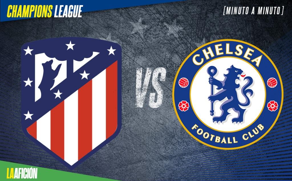 Atlético Madrid vs Chelsea. ChampionsHoy Octavos de Final 2021