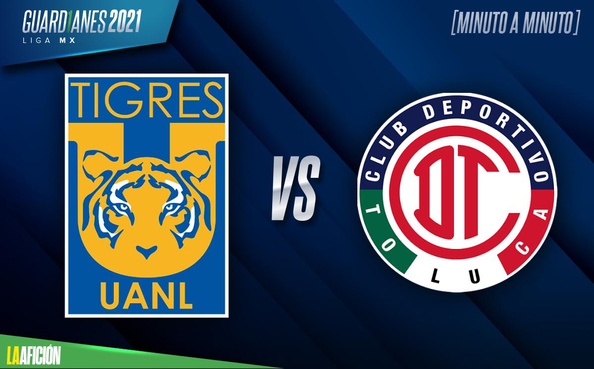 Tigres vs Toluca, Liga MX (0-1): GOL Y RESUMEN