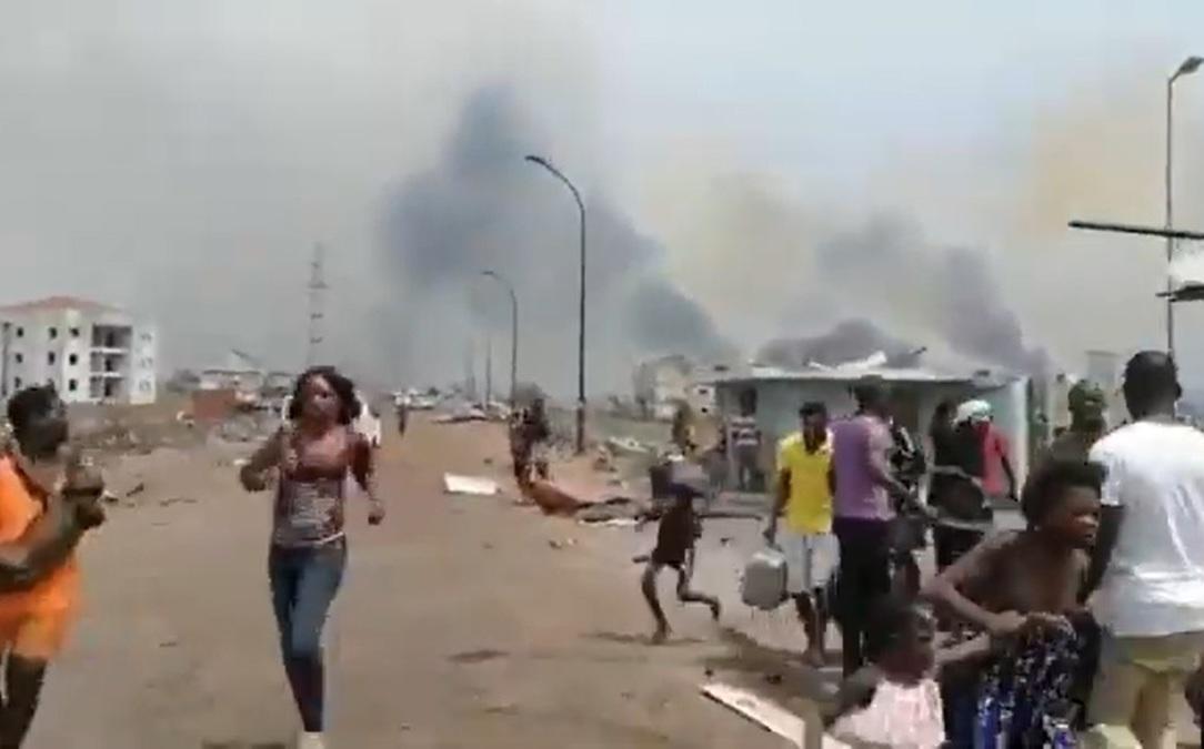 Explosiones en Guinea Ecuatorial matan al menos a 20 personas