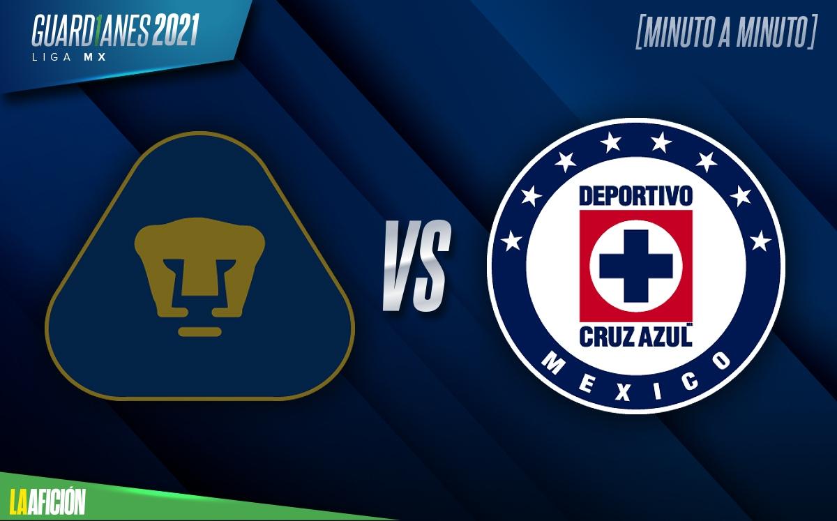 Pumas vs Cruz Azul EN VIVO. Liga Mx Transmisión | Partido HOY