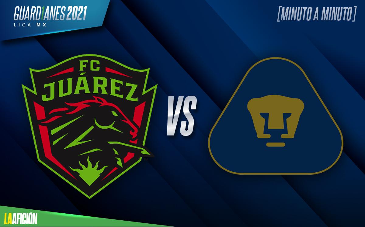 Juárez vs Pumas, RESUMEN Y GOLES de la jornada 10