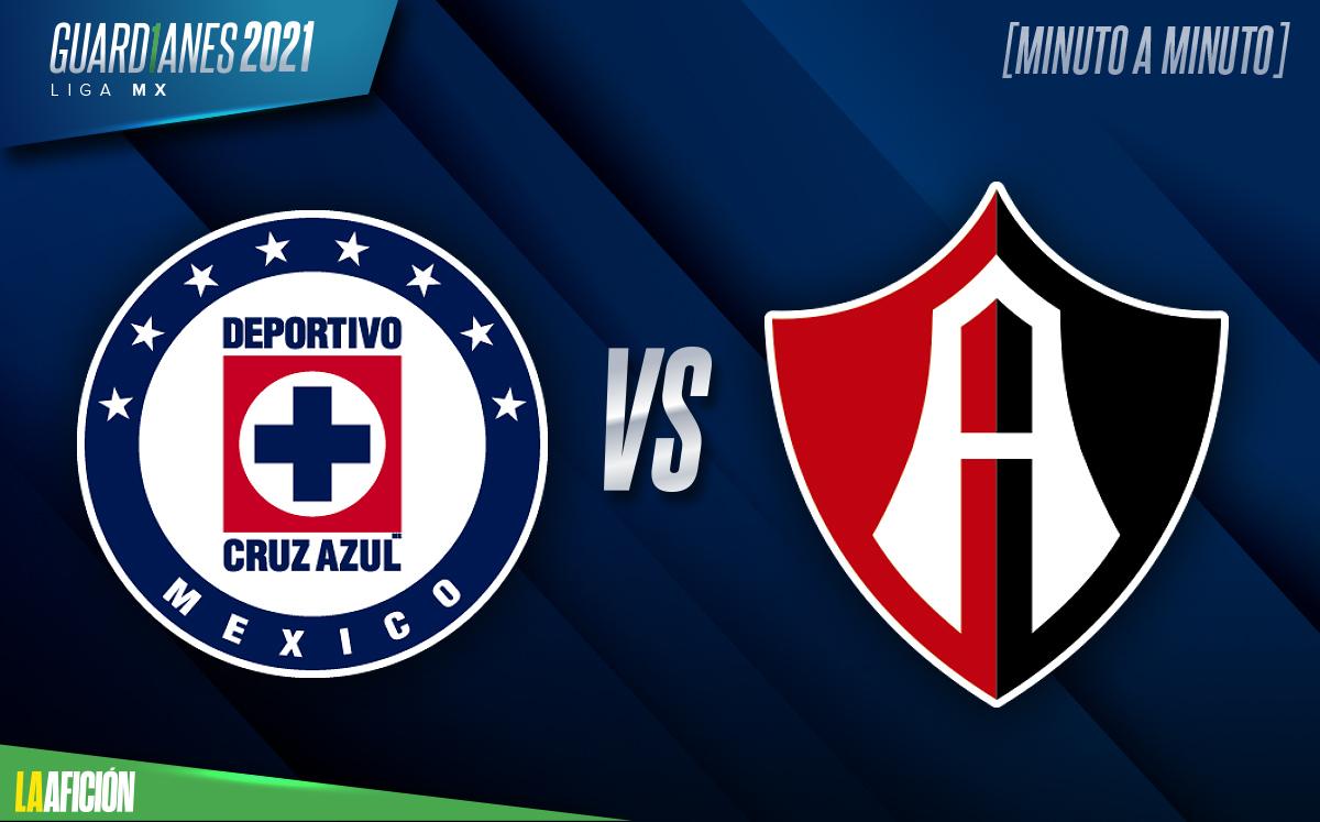 Cruz Azul vs Atlas EN VIVO. Jornada 12 Liga MX 2021