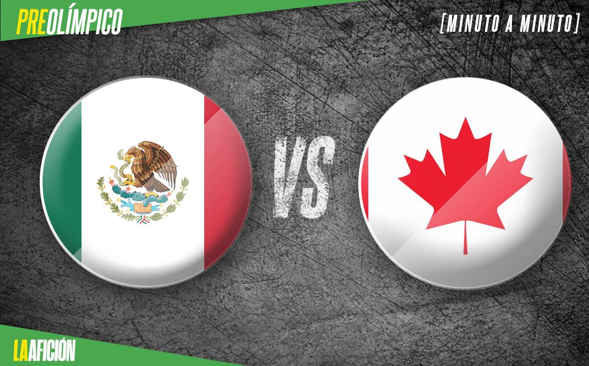 México vs Canadá Sub 23 EN VIVO. Semifinales Preolímpico 2021