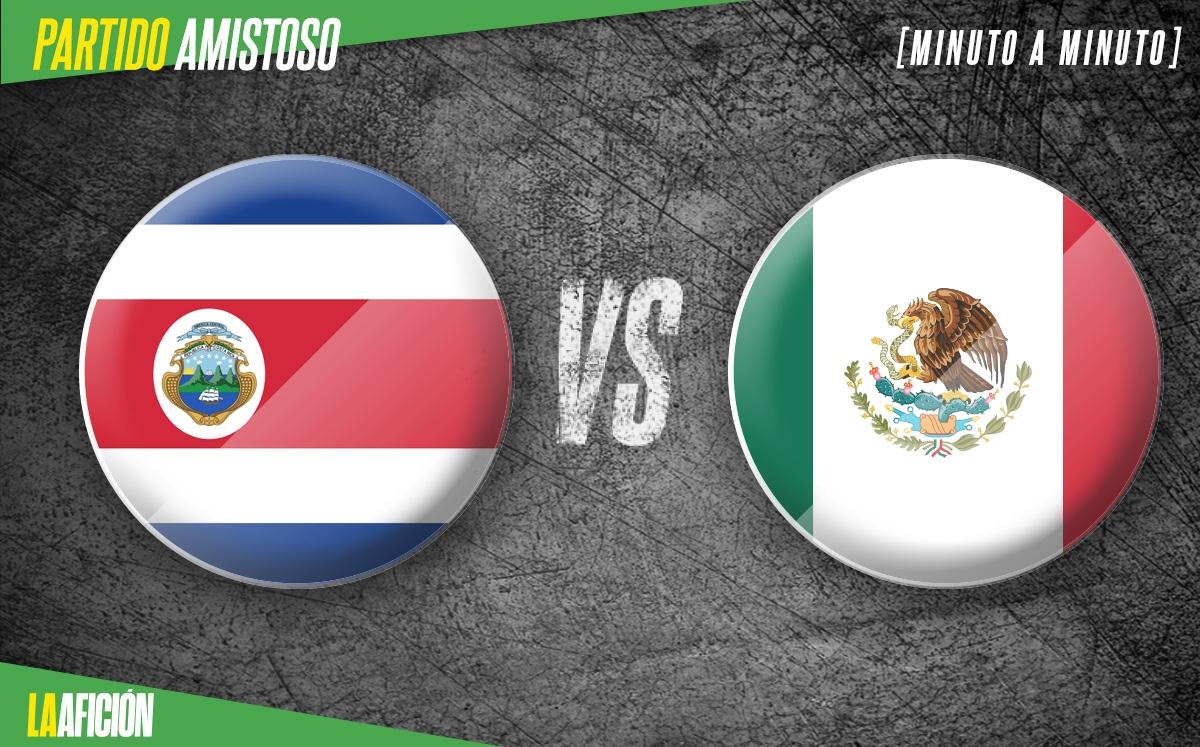 Costa Rica vs México EN VIVO. Partido Amistoso de HOY 2021
