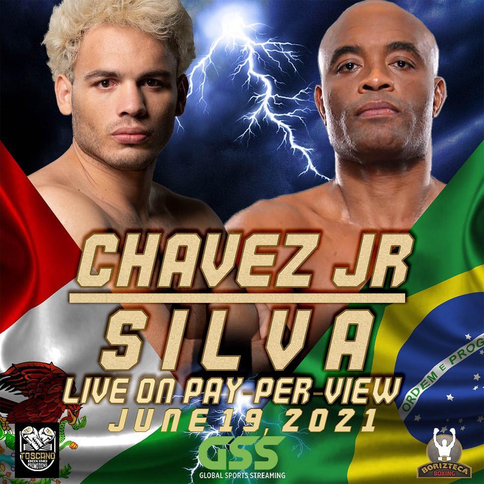 Julio César Chávez Jr. quiere noquear en el primer segundo del primer round a Anderson 'La Araña' Silva, ex campeón de UFC.