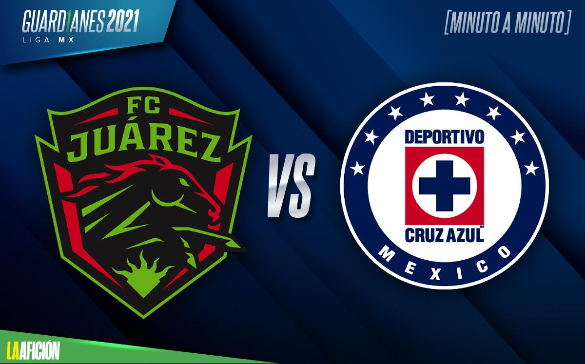Juárez vs Cruz Azul EN VIVO. Partido jornada 13 Liga Mx
