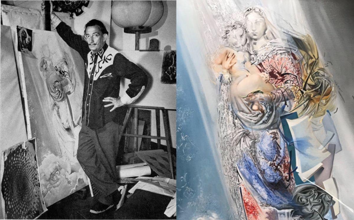 'Madona Cósmica' la pintura de Salvador Dalí oculta por 50 años