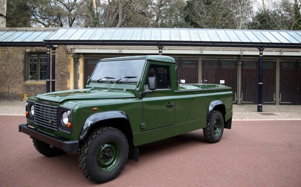 Land Rover Defender (AFP).