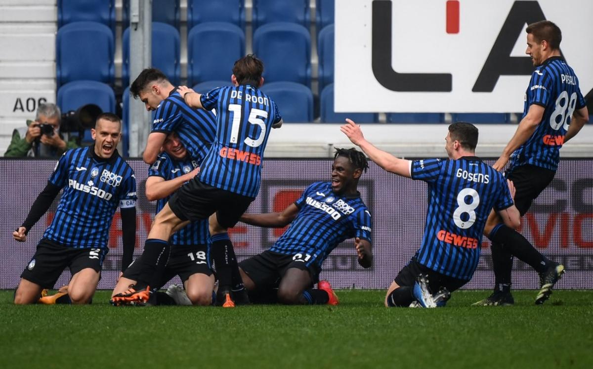 El Atalanta tumba a la Juve (1-0); Nápoles e Inter firman tablas (1-1)