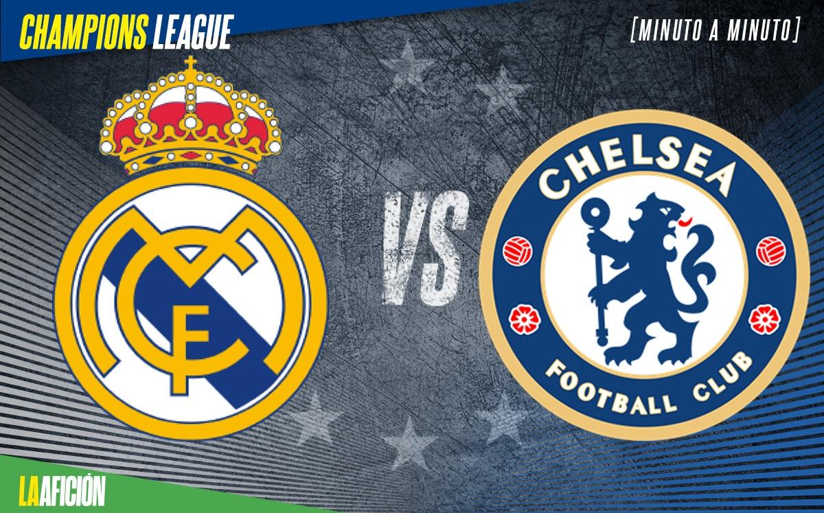 Real Madrid 1-1 Chelsea, semifinales de Champions: GOLES Y RESULTADO