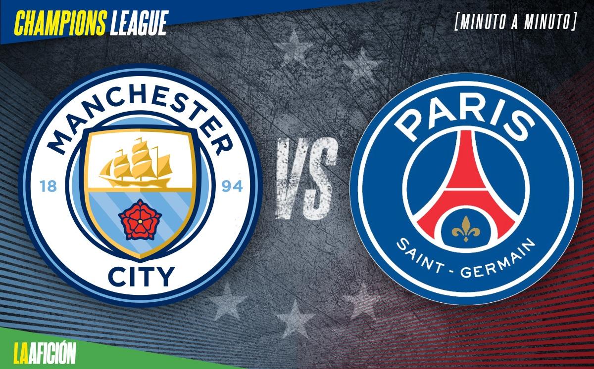 City vs París En Vivo. Vuelta de la Champions 2021