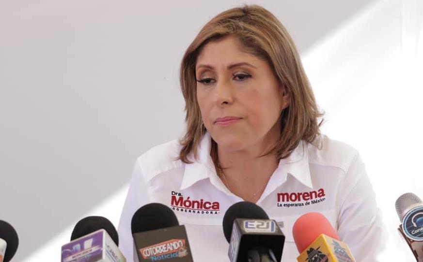 Mónica Rangel. Unidad de INE podría proponer quitar candidatura en SLP