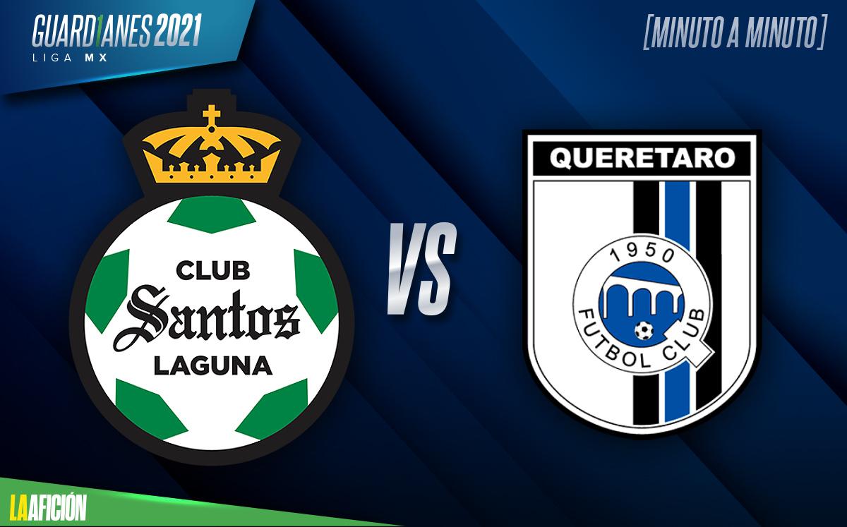 Santos vs Querétaro 2021. Repechaje Liga MX