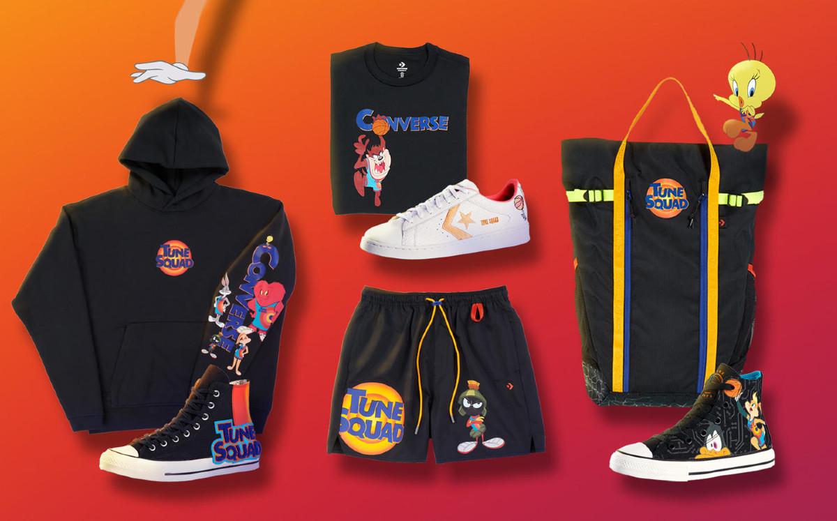 Nike y Converse lanzan nueva colección de ropa para Space Jam 2