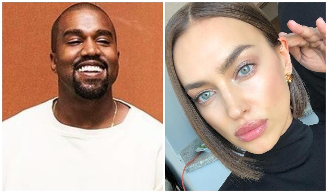 Kanye West.  They catch a rapper with Irina Shayk
