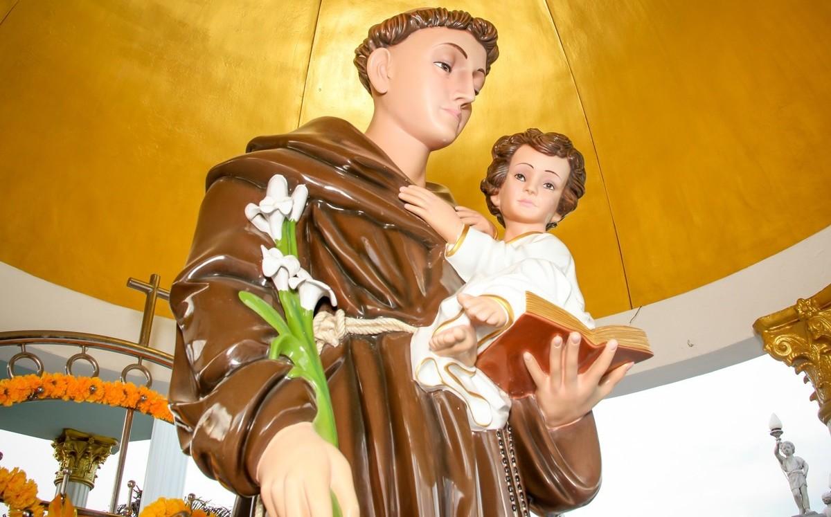 Ésta es la historia de San Antonio de Padua