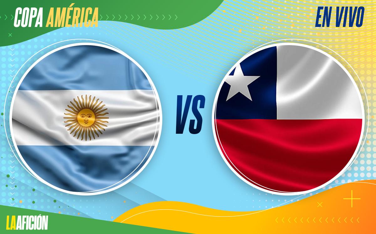 Argentina Vs Chile Copa América 2021 1 1 Goles Y Resumen