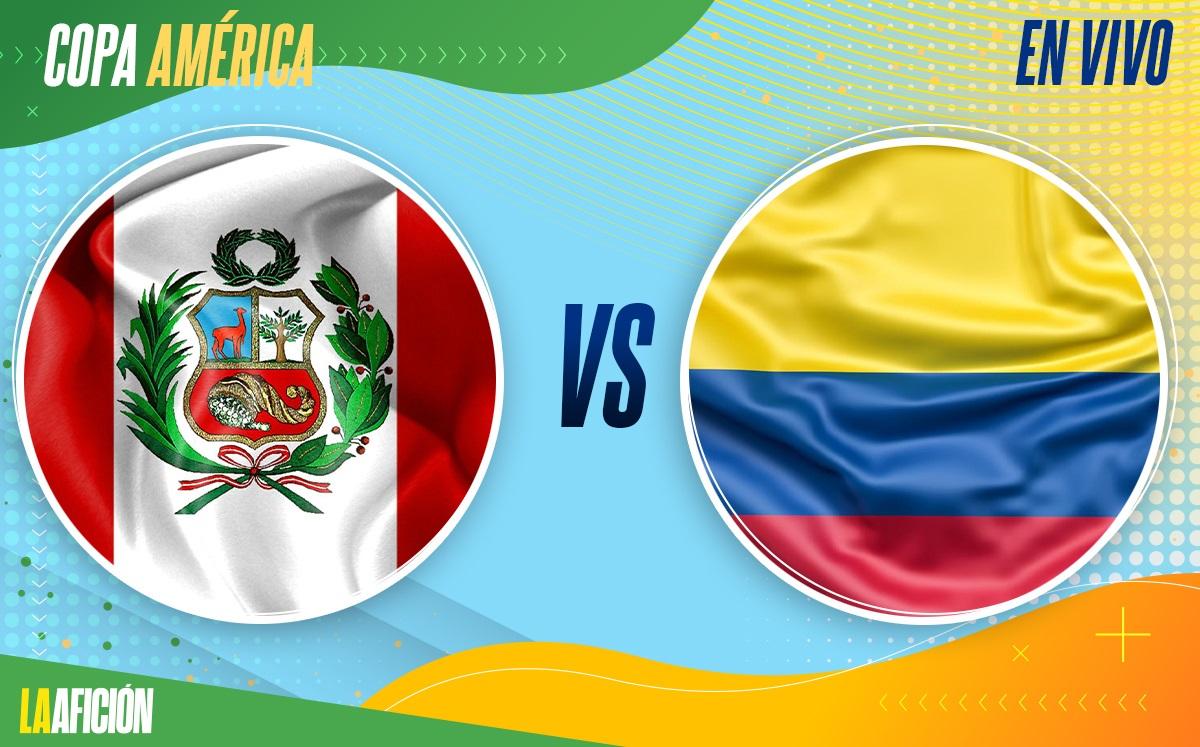 EN VIVO Perú vs Colombia - Por Tercer Lugar Copa América HOY