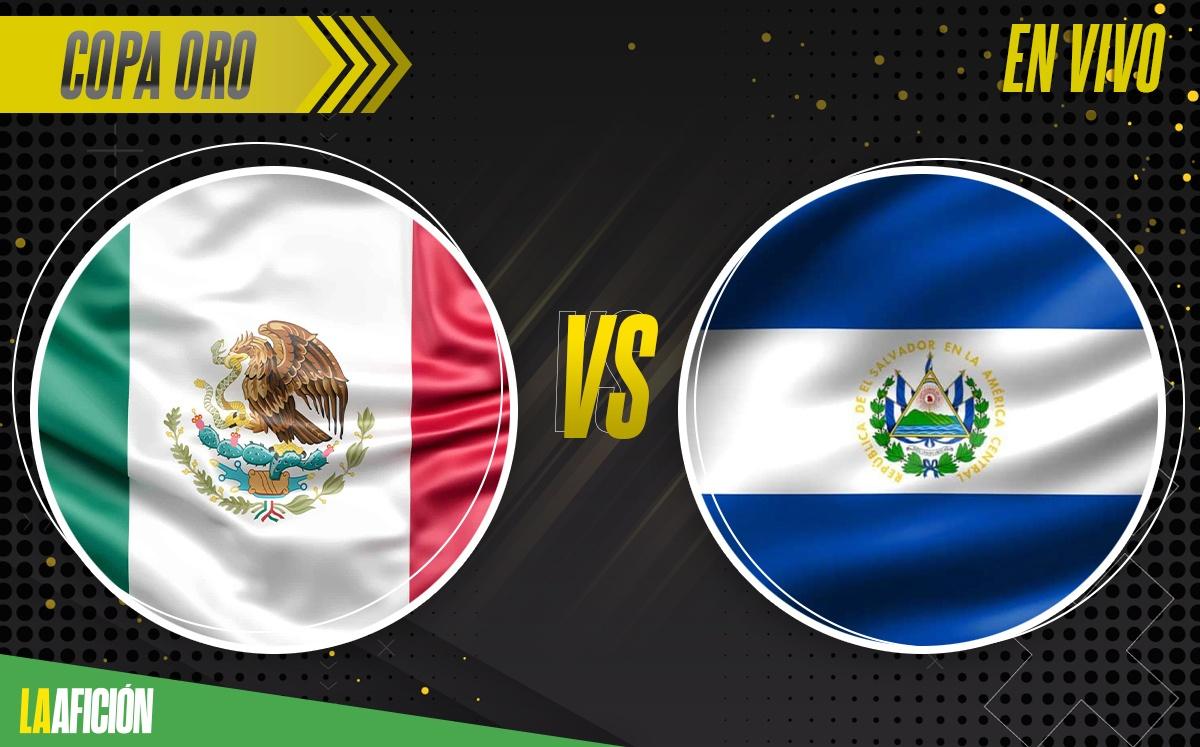 México vs El Salvador EN VIVO - Copa Oro 2021