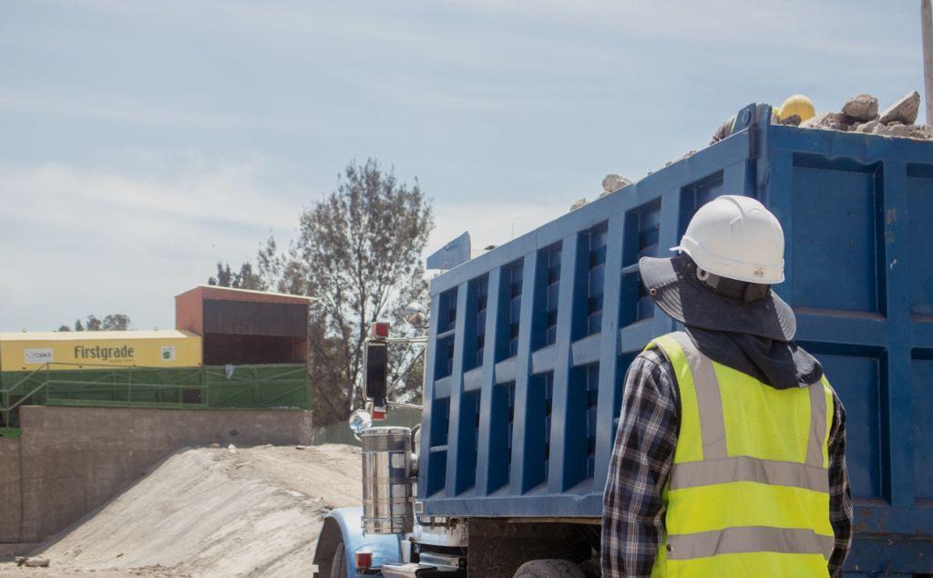 Manejo de residuos de construcción
