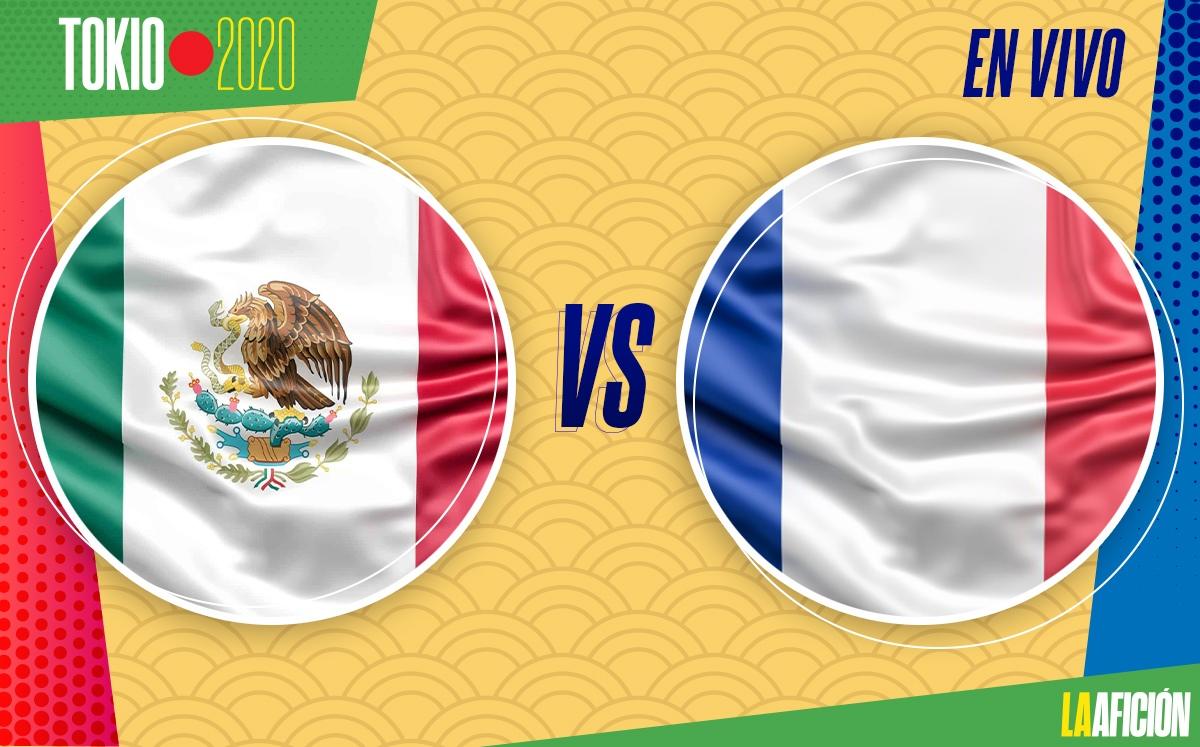 EN VIVO México vs Francia - Partido de la selección en Tokio 2020