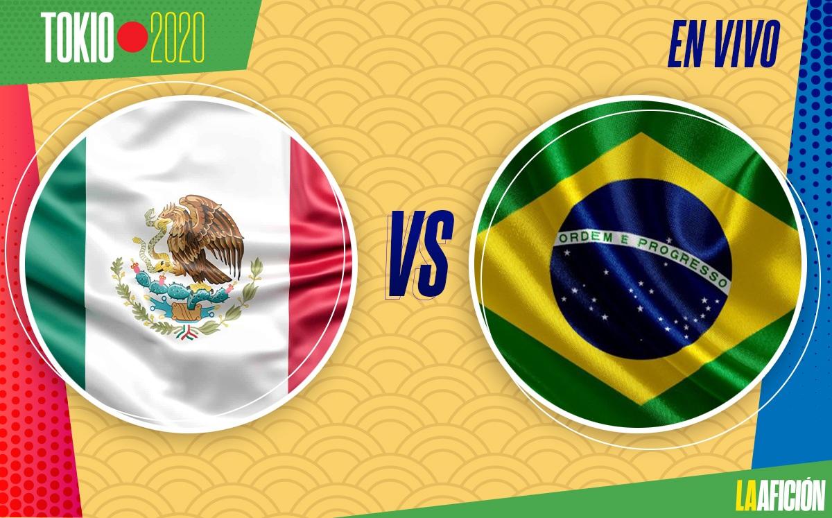 México 1-4 Brasil, Semifinal de Tokio 2020: GOLES Y RESULTADO
