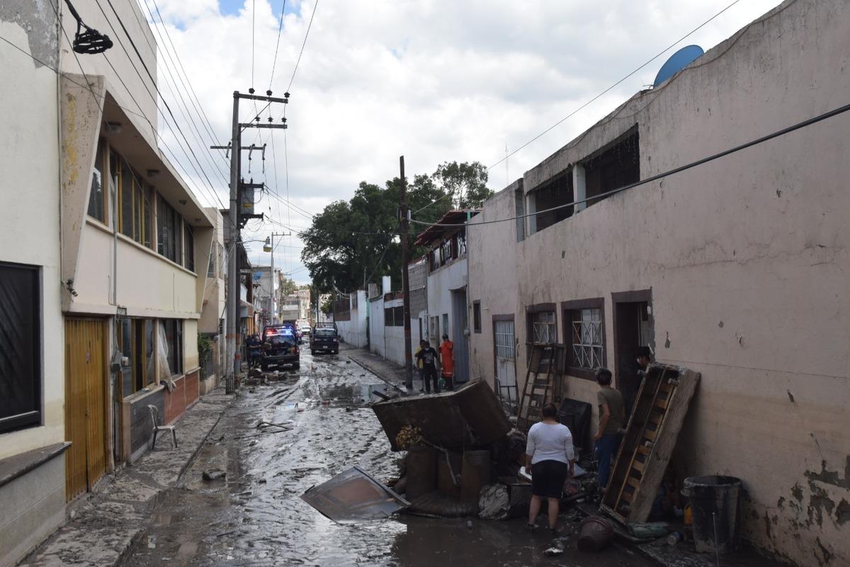 Limpieza en calles de Tula. (Francisco Villeda)
