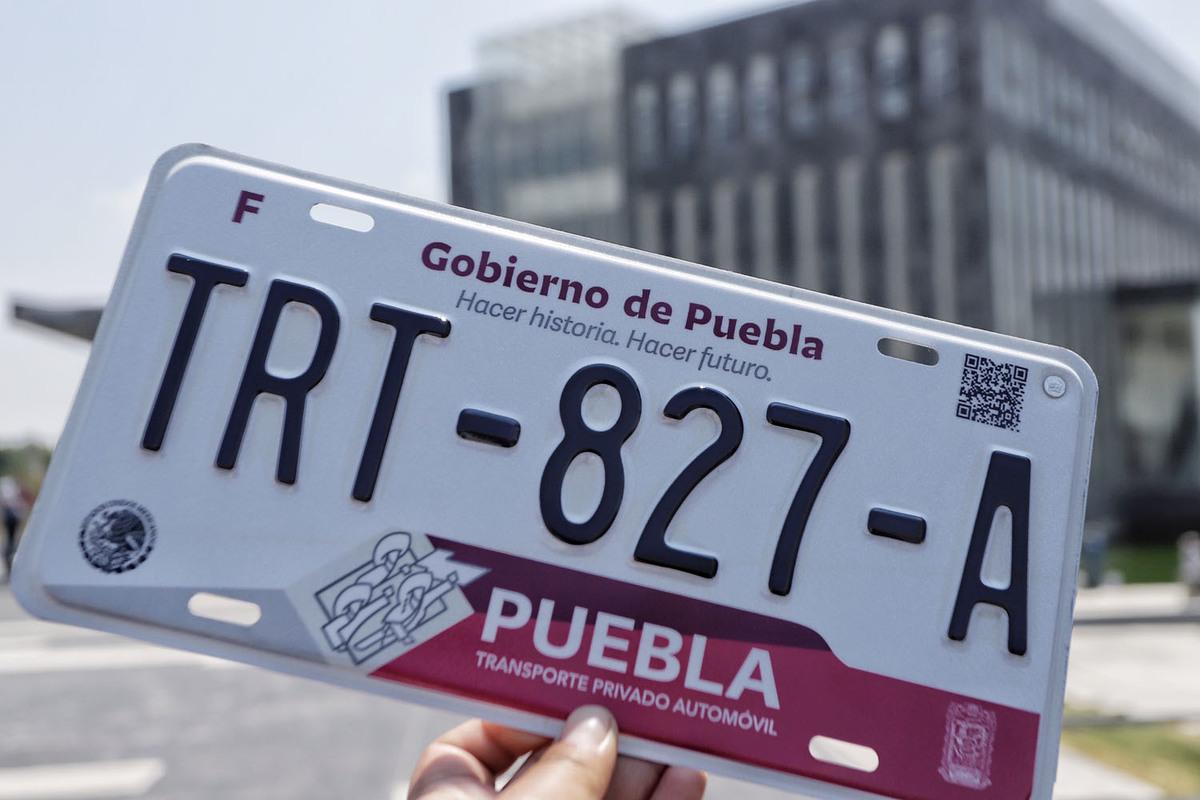 Reemplacamiento en Puebla mantiene su tarifa