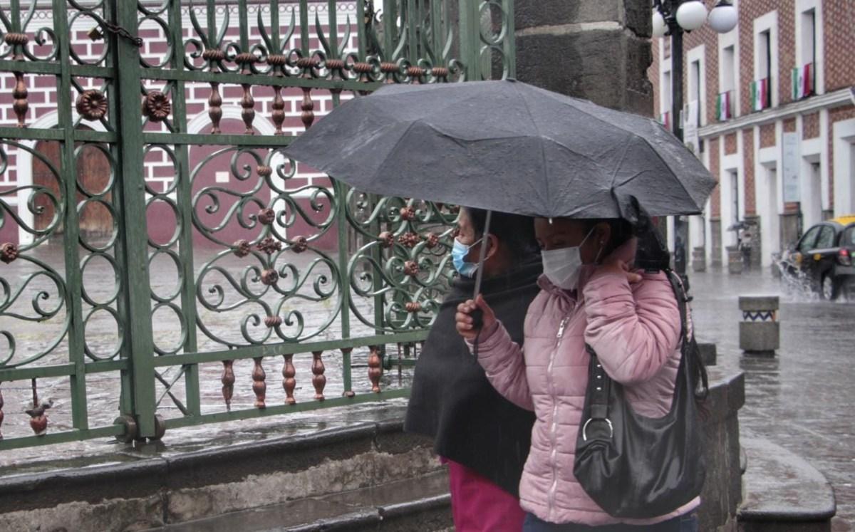 Por frente frío, Conagua prevé fuertes lluvias y granizo en CdMx, Edomex y otros estados
