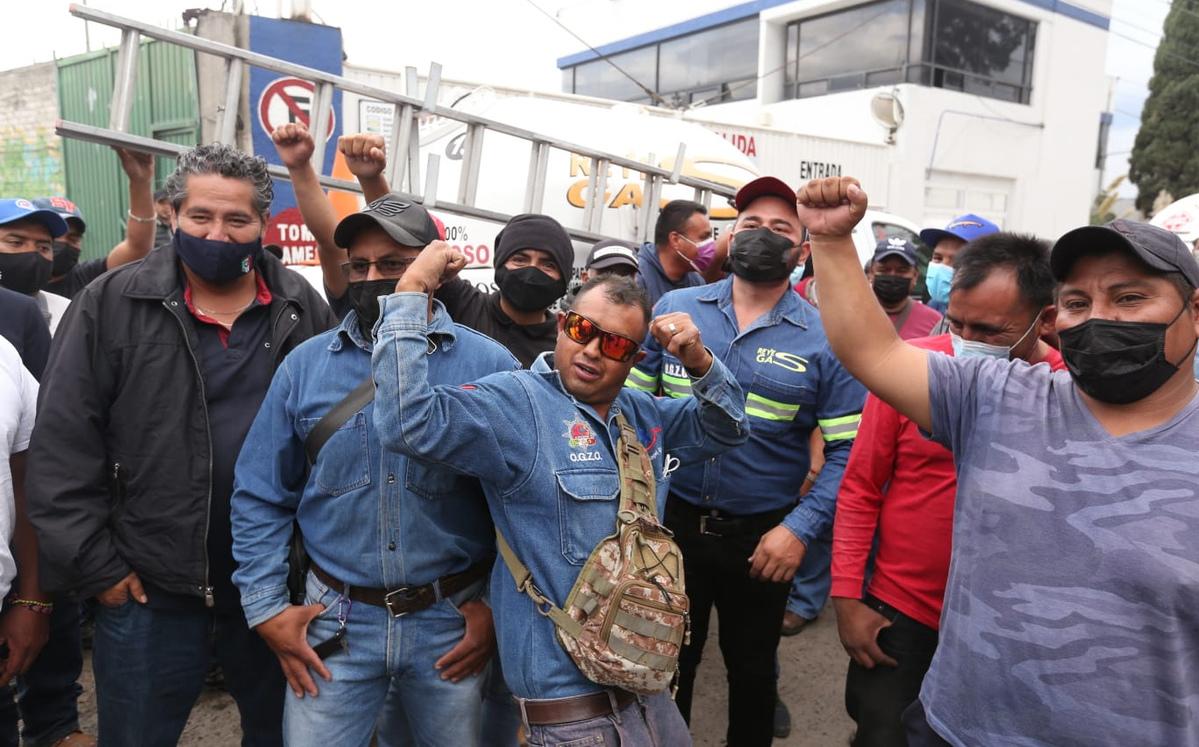Gaseros de CdMx y estados anuncian paro nacional indefinido desde mañana